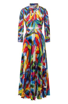Женское платье-макси SARA ROKA разноцветного цвета, арт. T0SCA105/37-SS2030 | Фото 1