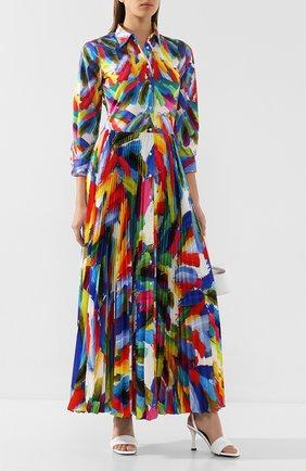 Женское платье-макси SARA ROKA разноцветного цвета, арт. T0SCA105/37-SS2030 | Фото 2