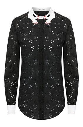 Женская рубашка VIVETTA черного цвета, арт. 20E V2M0/G102/0085 | Фото 1