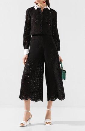 Женская рубашка VIVETTA черного цвета, арт. 20E V2M0/G102/0085 | Фото 2