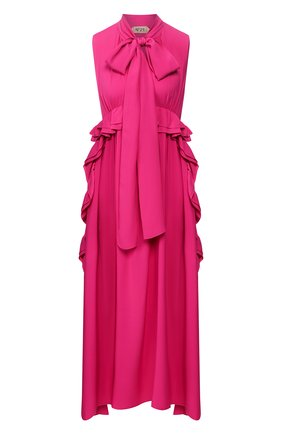 Женское платье-миди N21 фуксия цвета, арт. 20E N2M0/H221/5111 | Фото 1