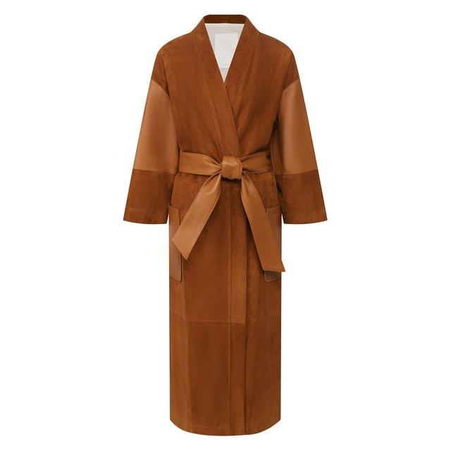 Замшевое пальто Twins Florence