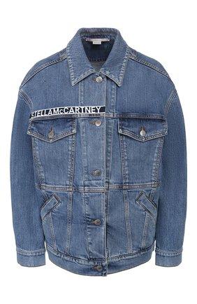 Женская джинсовая куртка STELLA MCCARTNEY синего цвета, арт. 600937/SNH95 | Фото 1