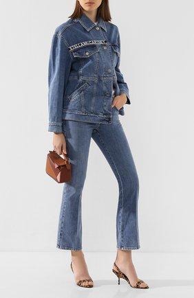 Женская джинсовая куртка STELLA MCCARTNEY синего цвета, арт. 600937/SNH95 | Фото 2