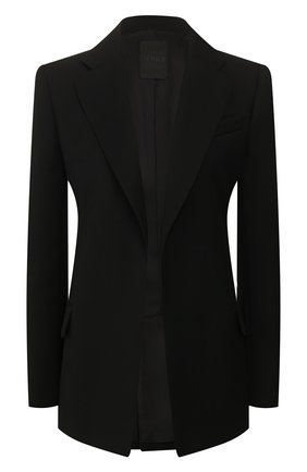 Женский шерстяной жакет VALENTINO черного цвета, арт. TB0CE1U55J2 | Фото 1