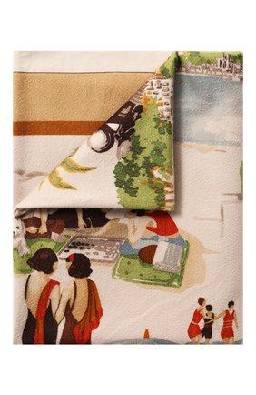 Мужского кашемировый плед LORO PIANA бежевого цвета, арт. FAG1800 | Фото 1