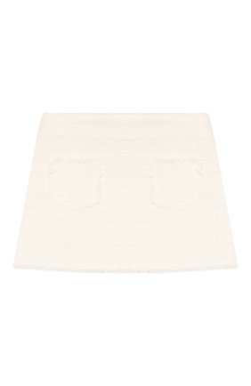 Детская хлопковая юбка IL GUFO белого цвета, арт. P20GN170C0049/2A-4A | Фото 1
