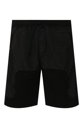 Мужские комбинированные шорты STONE ISLAND SHADOW PROJECT черного цвета, арт. 721960307 | Фото 1