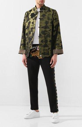 Мужская куртка BAPE зеленого цвета, арт. 1G20140001 | Фото 2
