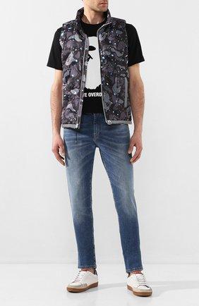 Мужской пуховый жилет BAPE черного цвета, арт. 1G30140005 | Фото 2