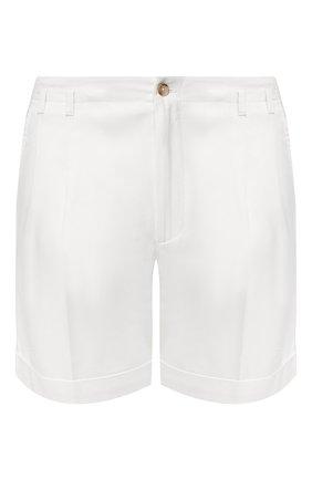 Мужские хлопковые шорты DOLCE & GABBANA белого цвета, арт. GWC7AT/FUFJU   Фото 1