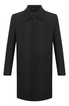 Мужской шерстяное пальто BRIONI темно-серого цвета, арт. S0PZ0L/06AX6 | Фото 1