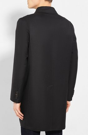 Мужской шерстяное пальто BRIONI темно-серого цвета, арт. S0PZ0L/06AX6 | Фото 4