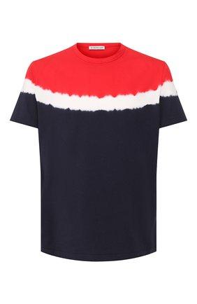 Мужская хлопковая футболка MONCLER разноцветного цвета, арт. F1-091-8C708-60-8390T | Фото 1