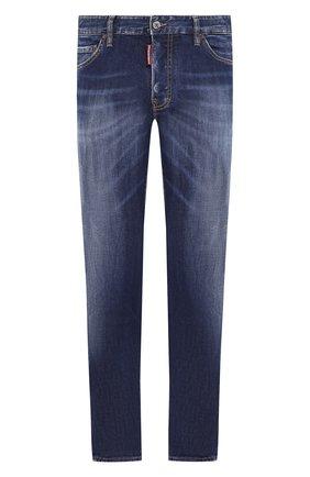 Мужские джинсы DSQUARED2 синего цвета, арт. S71LB0733/S30685   Фото 1