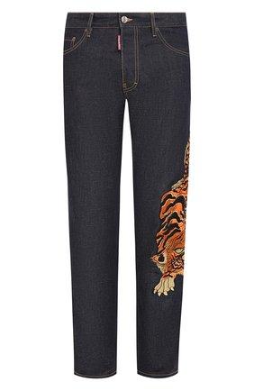 Мужские джинсы DSQUARED2 синего цвета, арт. S71LB0746/S30309 | Фото 1