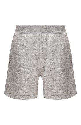Мужские хлопковые шорты DSQUARED2 серого цвета, арт. S78MU0026/S25148 | Фото 1