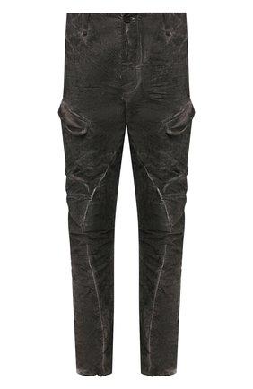 Мужской хлопковые брюки-карго MASNADA серого цвета, арт. M2421D | Фото 1