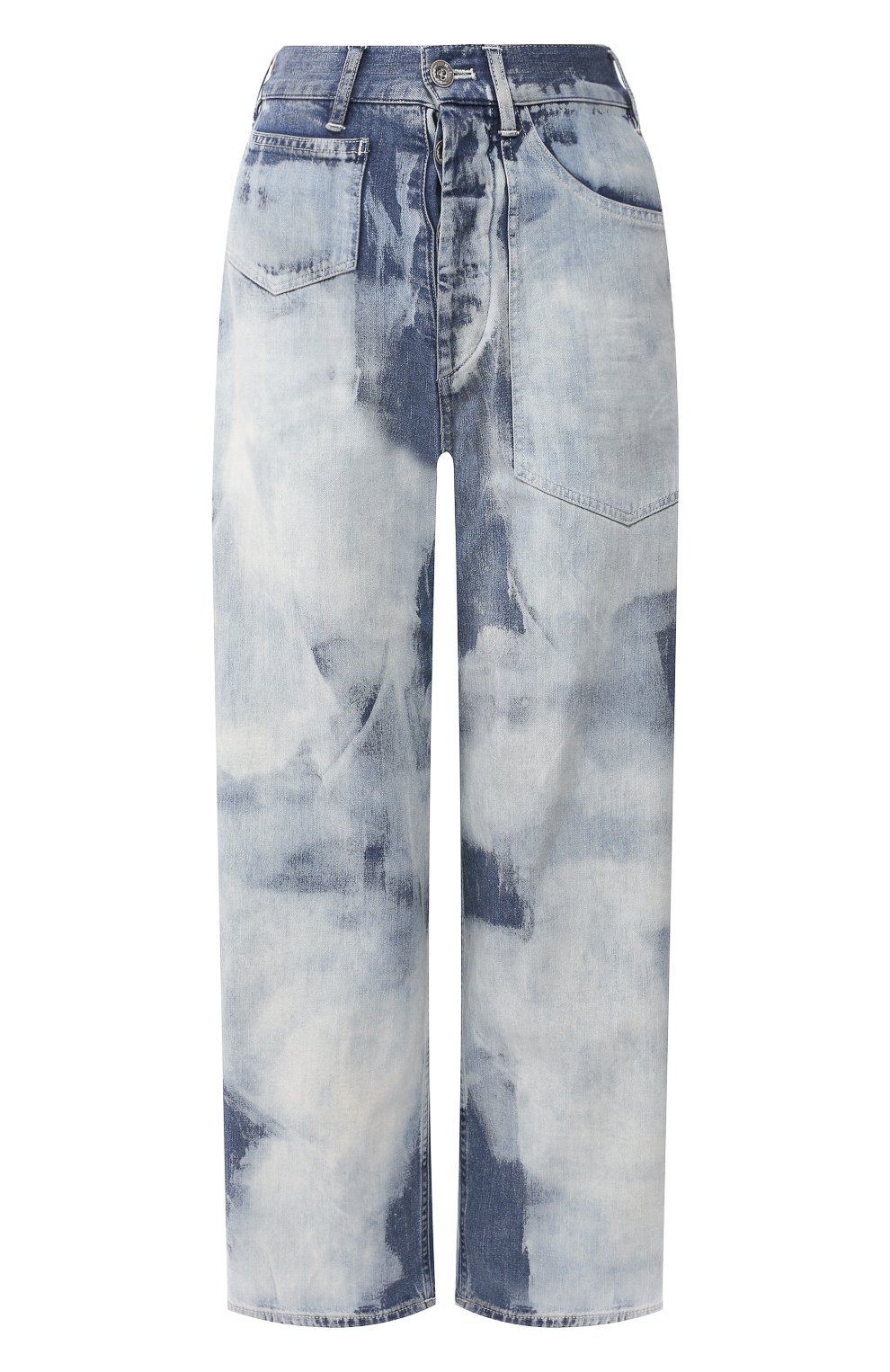 Женские джинсы RALPH LAUREN голубого цвета, арт. 290798104   Фото 1