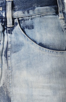 Женские джинсы RALPH LAUREN голубого цвета, арт. 290798104   Фото 5