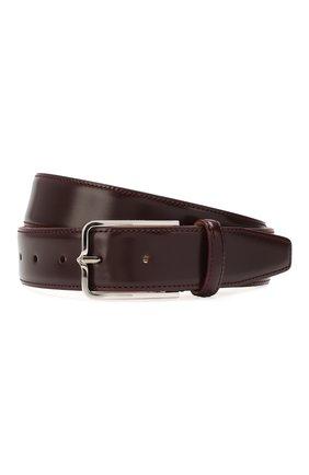 Мужской кожаный ремень CORNELIANI фиолетового цвета, арт. 00V301-0020830/00 | Фото 1