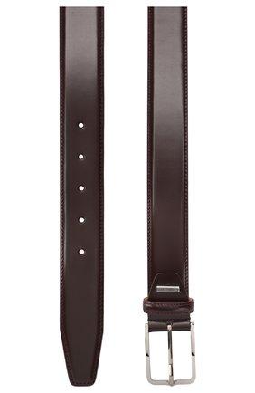 Мужской кожаный ремень CORNELIANI фиолетового цвета, арт. 00V301-0020830/00 | Фото 2
