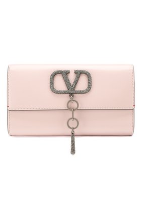 Женский клатч valentino garavani vcase  VALENTINO розового цвета, арт. TW2B0G00/JCM | Фото 1