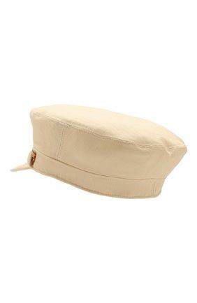 Женская хлопковая кепка INVERNI кремвого цвета, арт. 4823CT | Фото 2