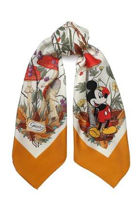 Шелковый платок Disney x Gucci | Фото №1