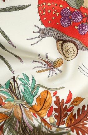 Шелковый платок Disney x Gucci | Фото №2