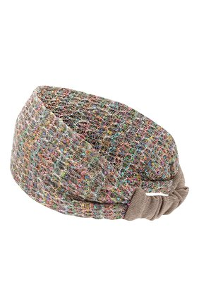 Женская повязка на голову MISSONI разноцветного цвета, арт. MMS00001/BK00HS | Фото 2