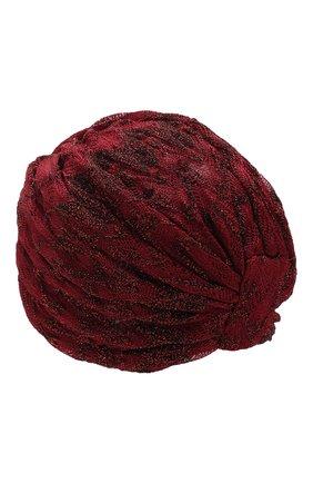 Женский тюрбан MISSONI бордового цвета, арт. MMS00011/BR0081 | Фото 2
