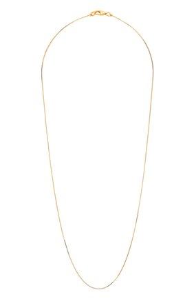 Женское серебряная цепь BOTTEGA VENETA золотого цвета, арт. 622036/VAHU0 | Фото 1