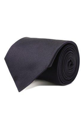 Мужской шелковый галстук CORNELIANI темно-синего цвета, арт. 85U302-0120300/00 | Фото 1