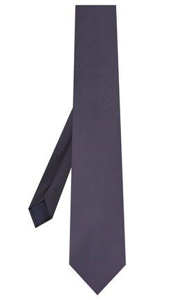 Мужской шелковый галстук CORNELIANI темно-синего цвета, арт. 85U302-0120300/00 | Фото 2