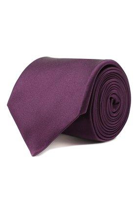 Мужской шелковый галстук CORNELIANI фиолетового цвета, арт. 85U302-0120300/00 | Фото 1
