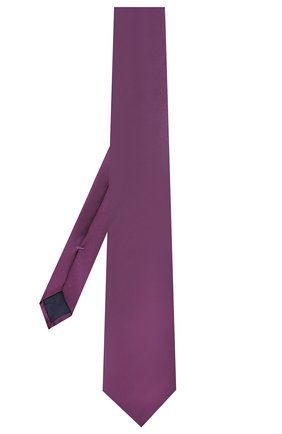 Мужской шелковый галстук CORNELIANI фиолетового цвета, арт. 85U302-0120300/00 | Фото 2