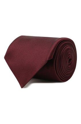 Мужской шелковый галстук CORNELIANI бордового цвета, арт. 85U302-0120300/00   Фото 1