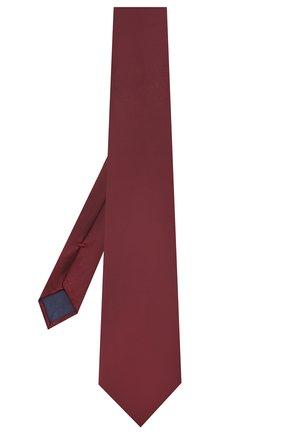 Мужской шелковый галстук CORNELIANI бордового цвета, арт. 85U302-0120300/00   Фото 2