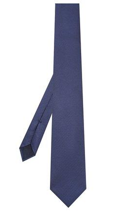 Мужской шелковый галстук CORNELIANI темно-синего цвета, арт. 85U302-0120302/00 | Фото 2
