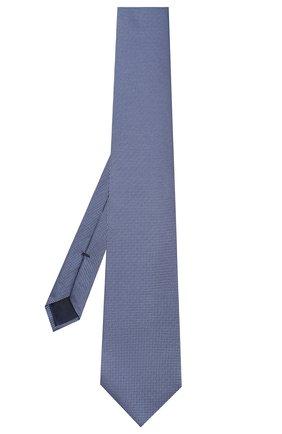 Мужской шелковый галстук CORNELIANI голубого цвета, арт. 85U302-0120302/00 | Фото 2
