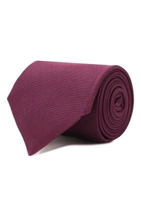 Мужской шелковый галстук CORNELIANI фиолетового цвета, арт. 85U302-0120302/00 | Фото 1
