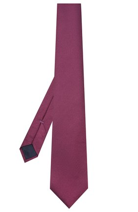 Мужской шелковый галстук CORNELIANI фиолетового цвета, арт. 85U302-0120302/00 | Фото 2