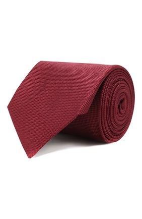 Мужской шелковый галстук CORNELIANI красного цвета, арт. 85U302-0120302/00   Фото 1