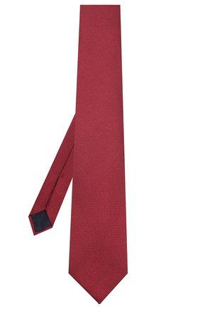 Мужской шелковый галстук CORNELIANI красного цвета, арт. 85U302-0120302/00   Фото 2