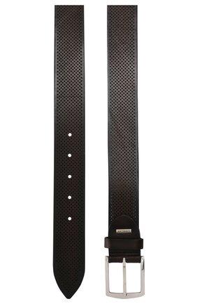 Мужской кожаный ремень CORNELIANI коричневого цвета, арт. 85V350-0120816/00 | Фото 2