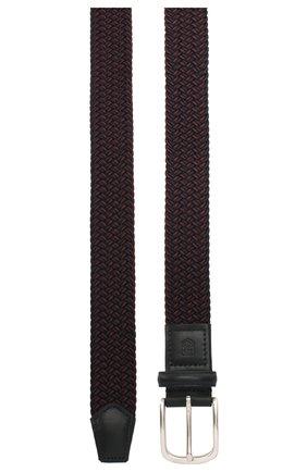Мужской текстильный ремень CORNELIANI фиолетового цвета, арт. 85V356-0120828/00 | Фото 2