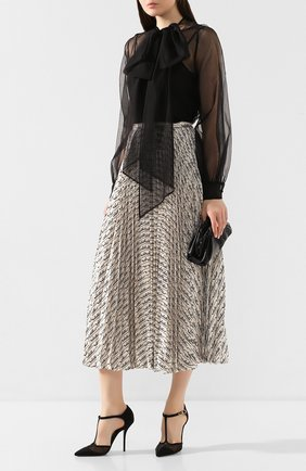 Женская текстильные туфли cardinale DOLCE & GABBANA черного цвета, арт. CD1515/AX975 | Фото 2