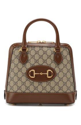 Женская сумка 1955 horsebit GUCCI коричневого цвета, арт. 621220/92TCG | Фото 1