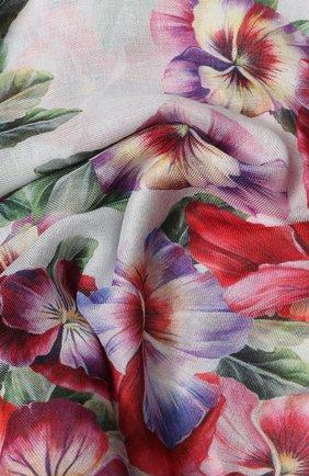 Мужские шарф DOLCE & GABBANA фиолетового цвета, арт. FS184A/GDS60 | Фото 2